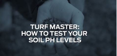 Test your pH levels to get a great lawn