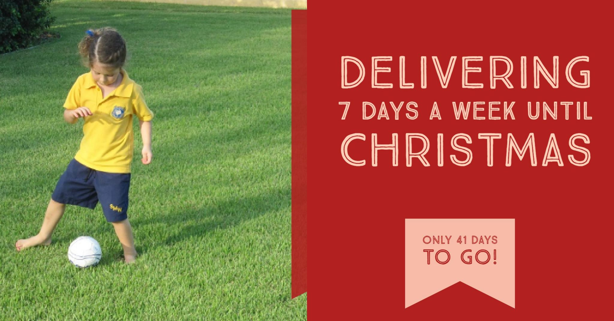 glenview turf is delivering 7 days a week until christmas