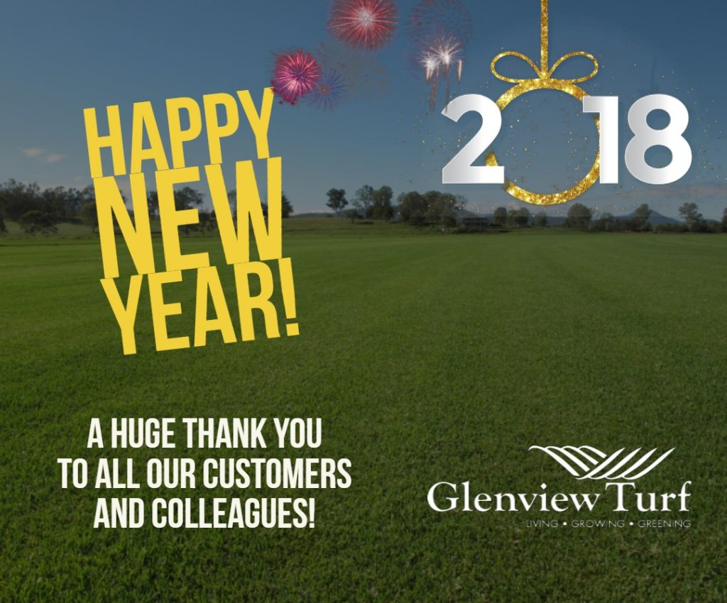 Happy New Year From Glenview Turf