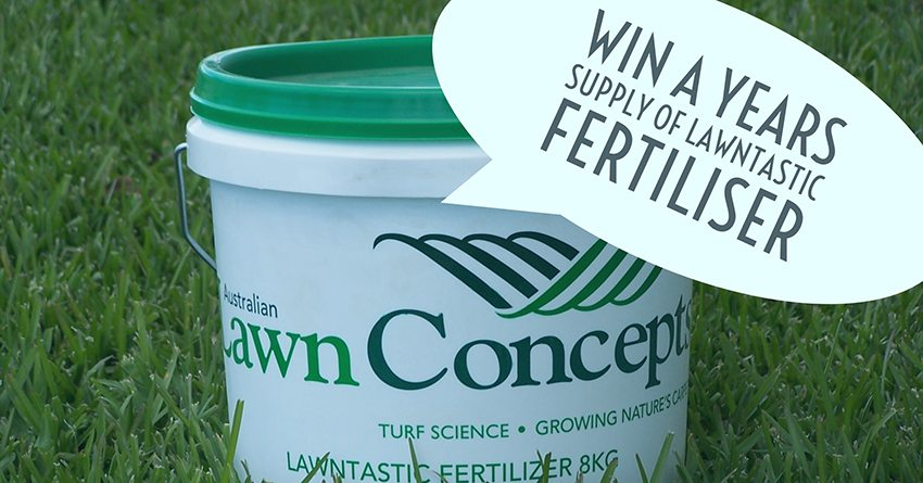 Win A Years Supply of Lawntastic Fertiliser