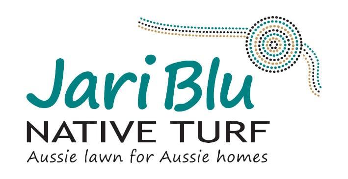Jari Blu Logo 170718 white background Glenview Turf
