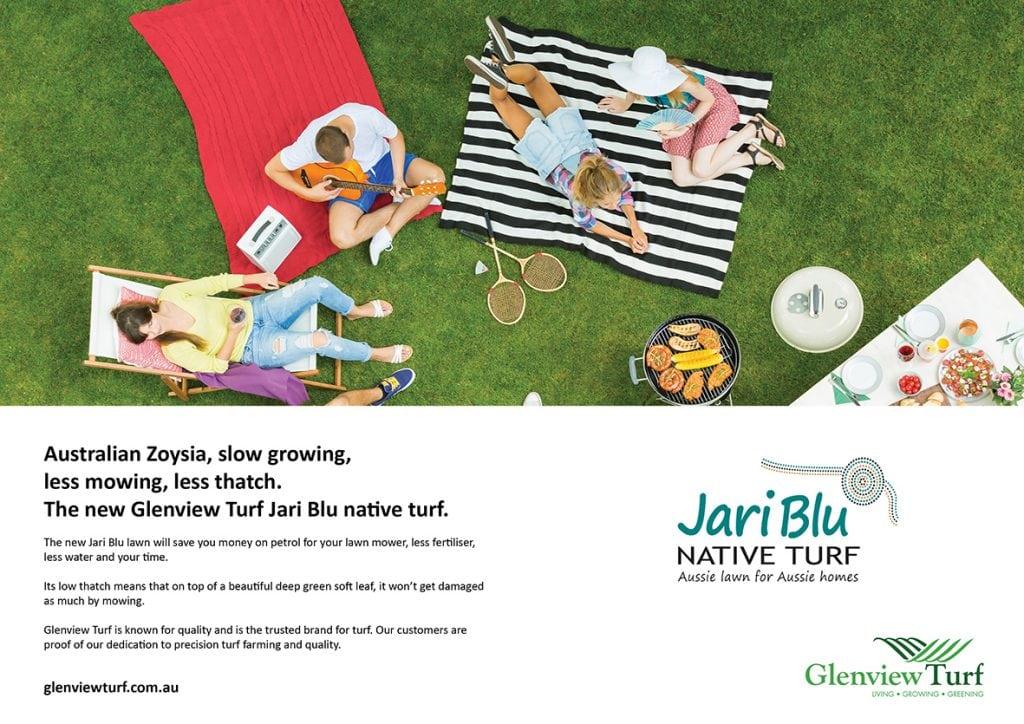 Glenview Turf Jari Blu ad3s