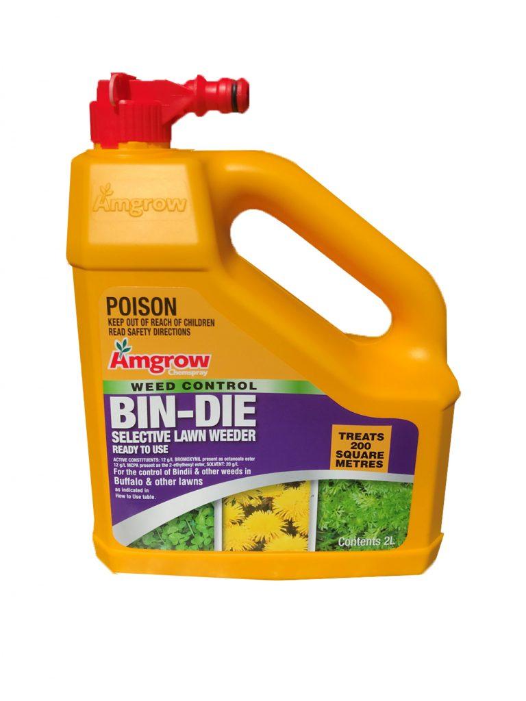Amgrow Weed Control Bin-Die5 - Glenview Turf