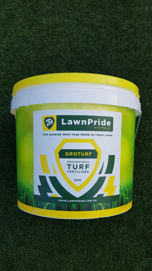 Lawn Pride Groturf Professional Turf Fertiliser 8KG e