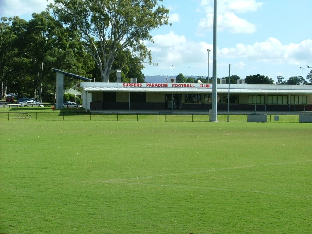 Oz Tuff Sports Couch at Surfers Paradise Football Club - Copy