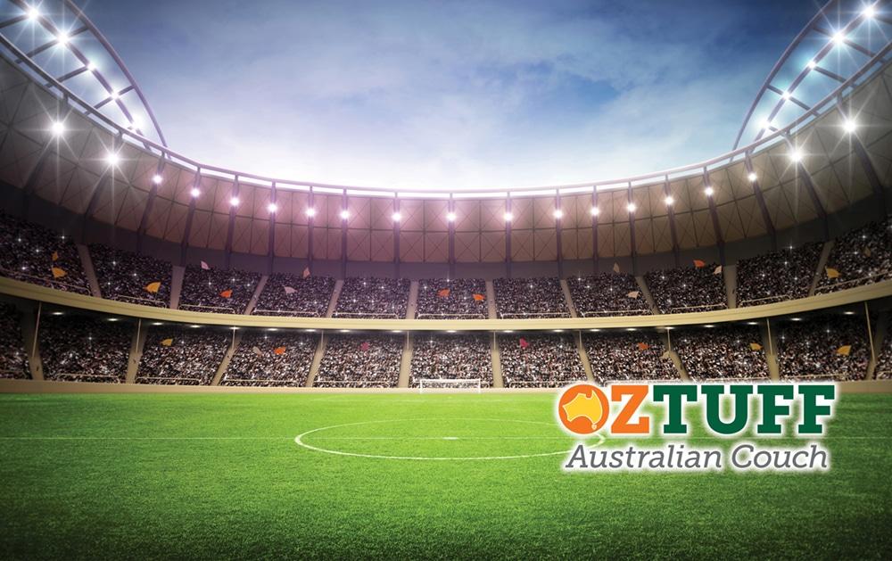Oz Tuff Sports Turf Australian Couch Stadium Logo e