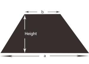 measuring trapezoid